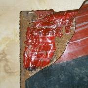 Restaurování podmalby – detail
